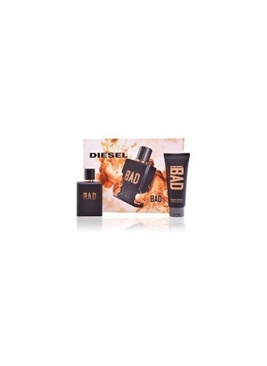 Diesel Diesel Bad Pour Homme Edt 75Ml+100Ml Sg Erkek Parfüm Set Renksiz
